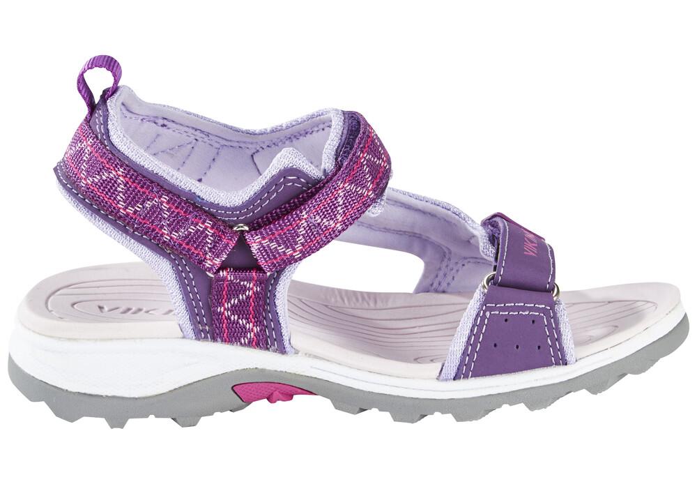 Viking Sandales Hvasser Enfant Plum/Dark Pink yMQNxcHhbm